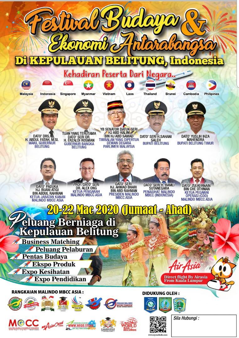 Peluang niaga dan lubuk investasi di Belitung